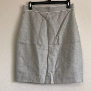BROOKS BROTHERS CAREER SKIRT 6P LORO PIANA